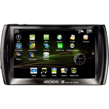 """ARCHOS 5, tablet Android, 5"""" display, 32GB"""