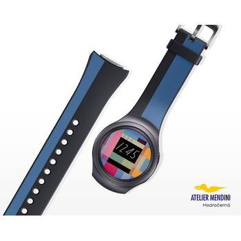 Samsung výměnný pásek ET-SRR72ML pro Gear S2, černo modrý