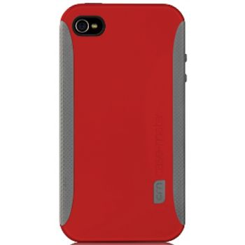 Case Mate pouzdro Pop Red / Grey pro iPhone 4