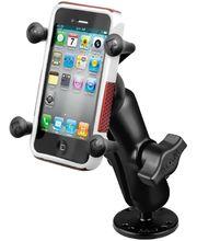 RAM Mounts univerzální držák na mobil do auta na palubní desku, bort kajaku, skútr, atd. na šroubky nebo vruty, AMPS, X-Grip, sestava RAM-B-138-UN7BU