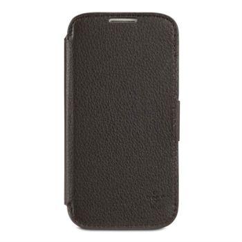 Belkin luxusní pouzdro z pravé kůže pro Samsung Galaxy S4, tmavě hnědé