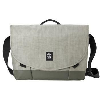 """Crumpler Private Surprise Slim XL nylonová taška 17.3"""" - šedá"""