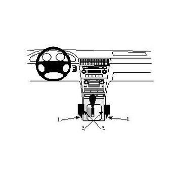 Brodit ProClip montážní konzole pro Honda Legend 96-06, na středový tunel