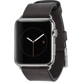 Case Mate výměnný řemínek Signature pro Apple Watch 42mm, černý