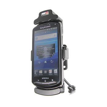 Brodit držák do auta na Sony Ericsson Xperia Pro bez pouzdra, s nabíjením z cig. zapalovače