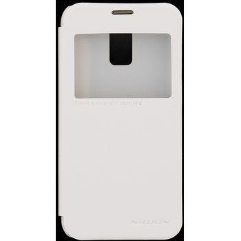 Nillkin flipové pouzdro Sparkle S-View pro Samsung Galaxy S5 mini, bílá