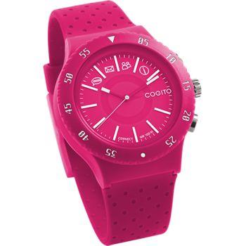 COGITOwatch 3.0 Pop Raspberry Crush bluetooth hodinky, růžové