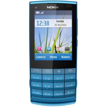 Nokia X3-02 Petrol Blue