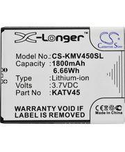 Baterie pro Kazam TV 4.5, 1800mAh, Li-ion