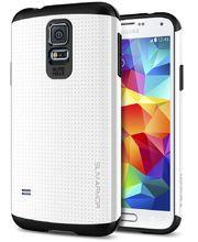 Spigen pevné pouzdro Slim Armor Infinity white pro Samsung Galaxy S5, bílá