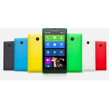 Nokia X Dual Sim červená + červený bezdrátový stereo reproduktor