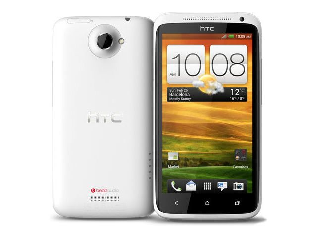 obsah balení HTC One X bílá + náhradní datový kabel
