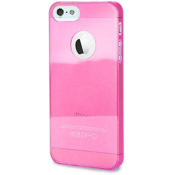 PURO pouzdro Crystal Cover pro Apple iPhone 5 - růžová