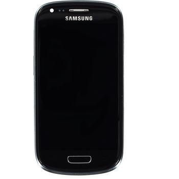 Náhradní díl LCD displej + dotyk + přední kryt Samsung i8190 Galaxy S III mini, černý