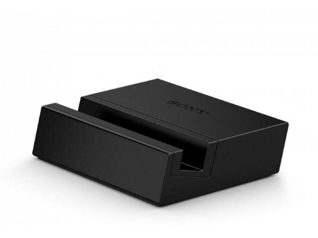 obsah balení Sony DK36 Smart Charging Dock černá + PanzerGlass sklo pro Sony Xperia Z2