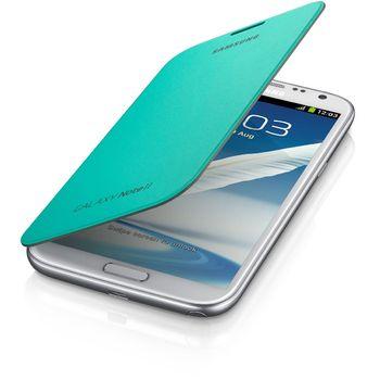 Samsung flipové pouzdro EFC-1J9FM pro Galaxy Note II, zelené
