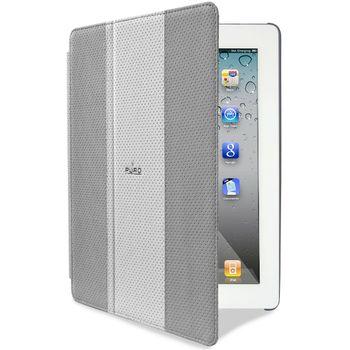 PURO pouzdro Booklet Golf pro nový iPad/iPad 2 - šedá