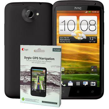 HTC One X černá + navigace Sygic Evropa ZDARMA