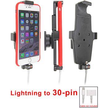 Brodit držák do auta na Apple iPhone 6/6S Plus v pouzdru,s pružinou, s průchodkou pro Light.na 30pin