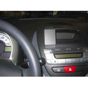 Brodit ProClip montážní konzole pro Citroen C1 /Peugeot 107 /Toyota AYGO 06-14, na střed vlevo