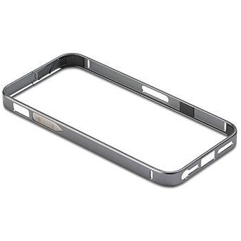 PanzerGlass ochranný hliníkový rámeček pro Apple iPhone 4/4s, šedý